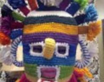 Inti Raymi Cusco Centuries Old Celebration Mask. Andes Mountian. Summer Solstice Celebration. Ecuador Mask
