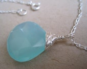 RESERVED Chalcedony Necklace