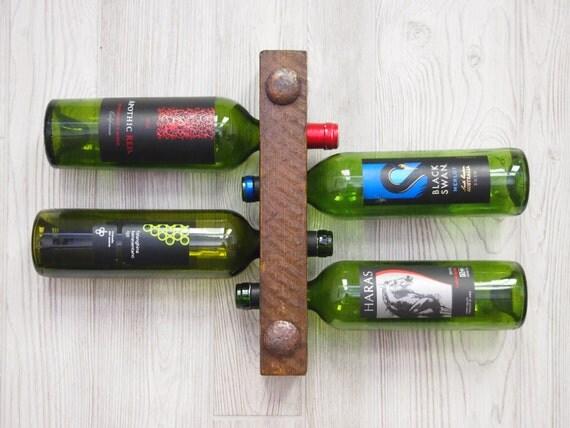 Inexpensive Gift 4 Bottle Wine Rack