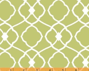 Day for Night Rosemarie Lavin Design - Sage Large Tiles from Windham Fabrics