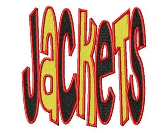 Jackets - Multi Color - Machine Embroidery Design - 8 Sizes