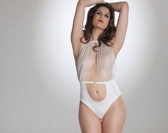 Lana Cream Bodysuit - Lingerie