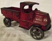 Antique Cast Iron AC Williams Mack Truck