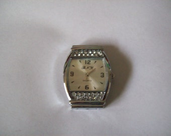 Watch Large Face with Rhinestones