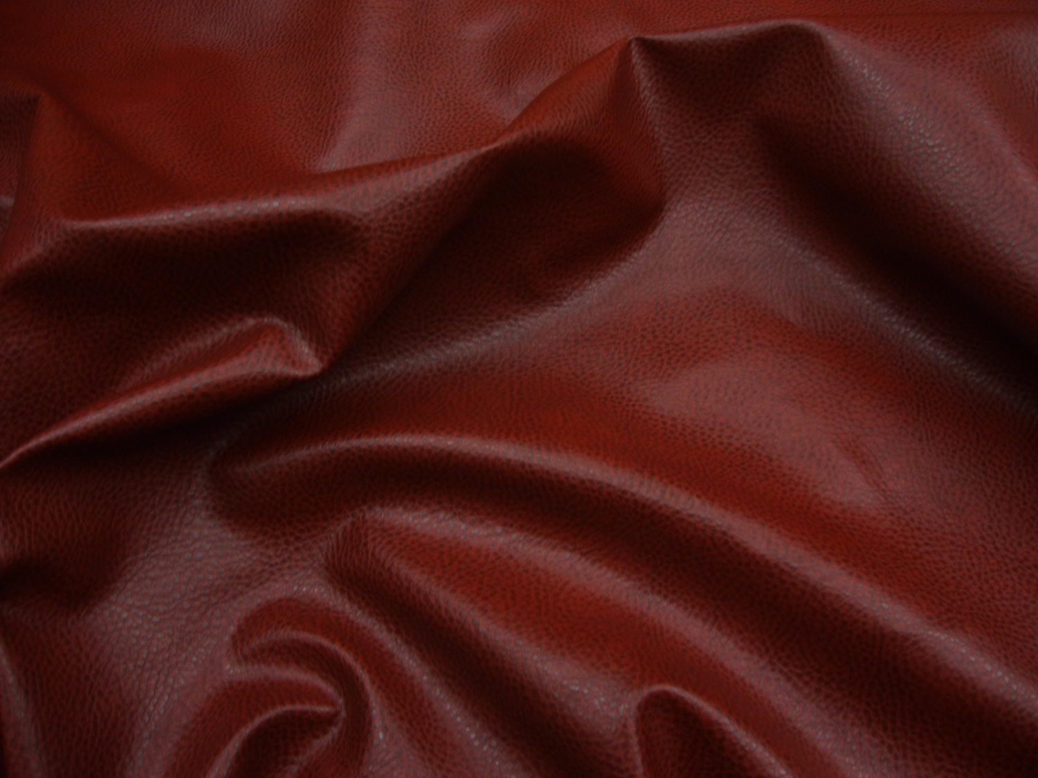 54 wide red upholstery ford faux leather vinyl fabric for Red leather fabric