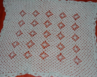 Baby Lacy Crochet Afghan Pattern, Instant Download
