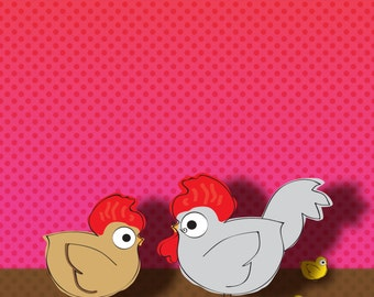 The Chicken Family