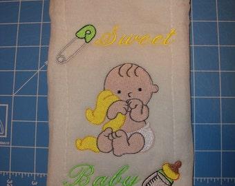 Neutral Burp cloths   Baby Shower Gift