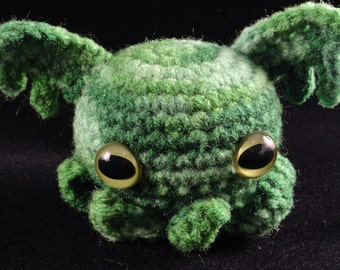 Crochet Octopus: Minion of Cthuhlu (Made to order)