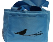 Bird on Branch Lunch Bag/ Six Pack Cooler