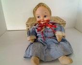 Vintage 1940's - 50's Doll