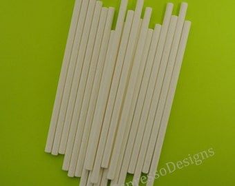 "Cake Pop Lollipop Sticks 4"" 50ct CakePop Cupcake Cake Decoration Birthday Party"