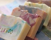 5 Ballyhoo Handmade Soaps  - bulk discount - choose your soaps, pick 5