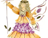 Friendship Faery - Fantasy Flower Fairy 8 x 10 Print - Imagine Magic - Original Design Fine Art