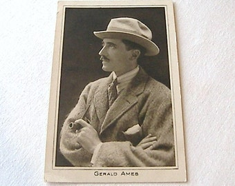 Gerald Ames, Black and White Postcard, Old Black and White Postcard No 18