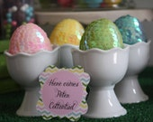 CUSTOM Toppers -  Easter Chevron Collection - by BellaGrey Designs