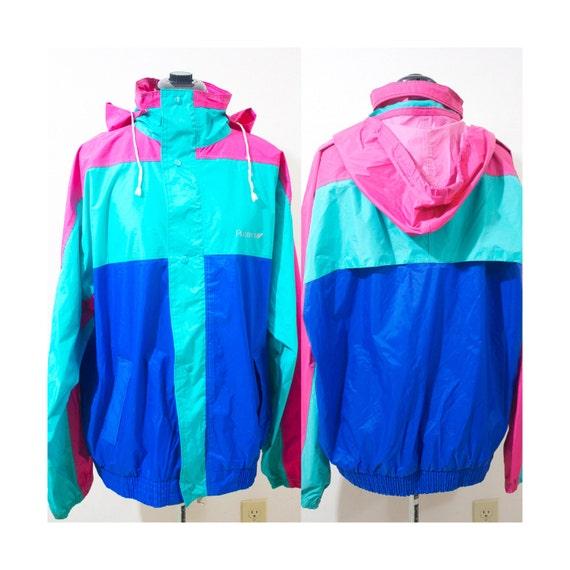 Neon Rain Jacket - Pl Jackets
