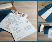 Cherish Wedding Invitation- SAMPLE -