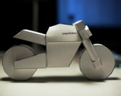 paperbikes v101 - PRINTED Ducati Monster motorcycle model kit