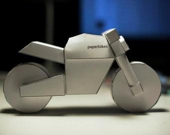 paperbikes v101 - PRINTED Ducati Monster motorcycle model kit
