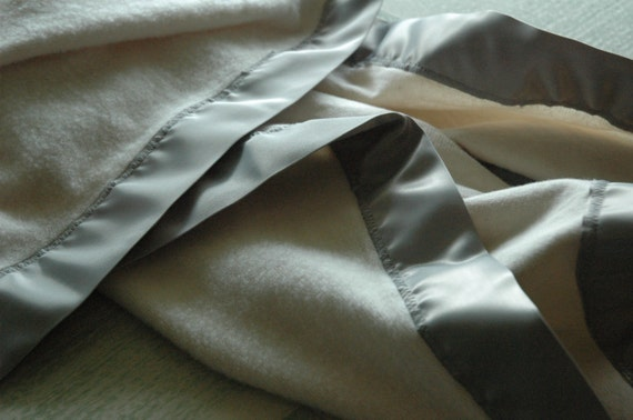 Organic Cotton Fleece Baby Blanket With By