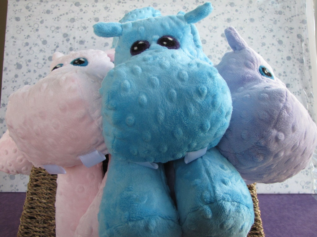 sewing templates for stuffed animals - hippo stuffed animal sewing pattern