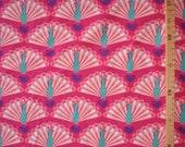 Organic Jersey fabric - Lillestoff - Peacock Love - 1/2 yard