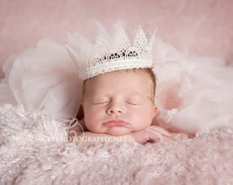 Vintage Baby Crown - Photography Prop