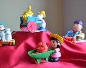 Vintage Lot of McDonald's Toys 1990 Peanuts