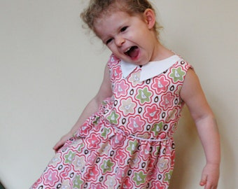 Bird dress in Swedish/Scandinavian design by Lingonberry Latitude - Ready to Ship in 3T