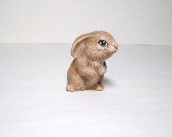 Bunny, ceramic miniature bunny