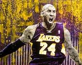 Kobe The Destroyer original painting