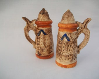 Japan Made German Beer Mug imaged Shakers