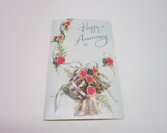 Greeting Card Vintage Happy Anniversary Greeting Card English Cards Limited