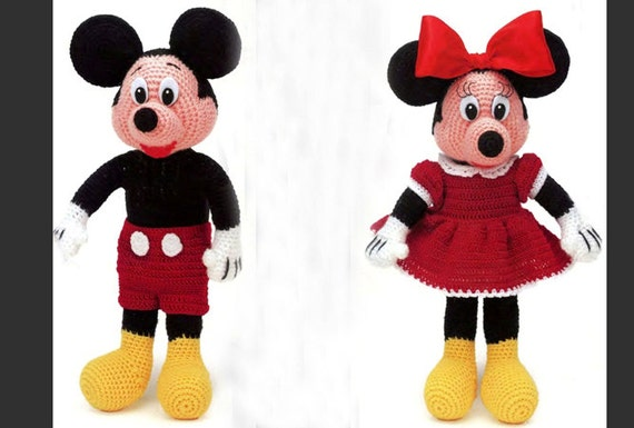 Crochet Minnie Mouse Doll : Unavailable Listing on Etsy