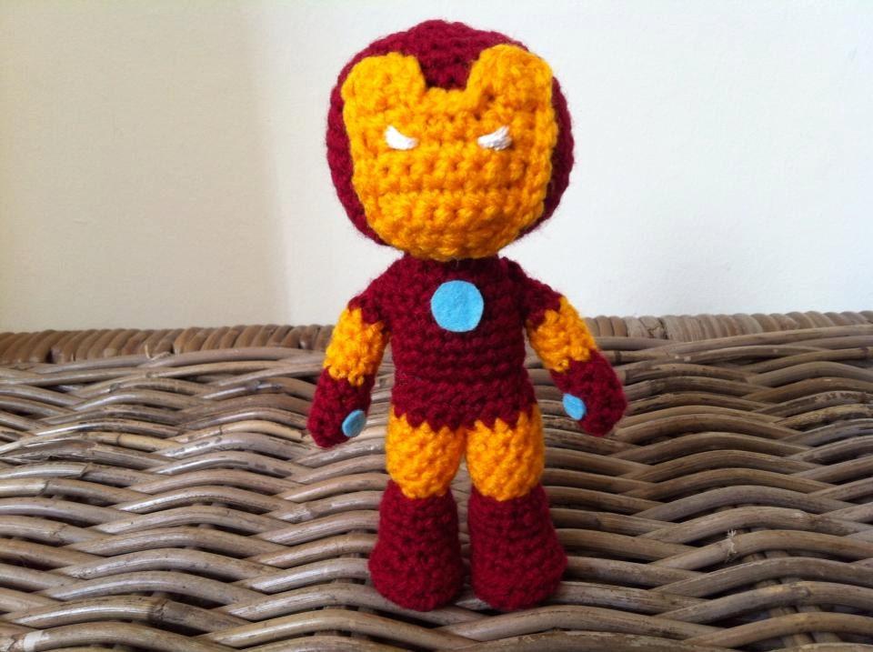Iron Man Crochet Pattern Iron Man Inspired Crochet