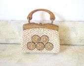 Vintage Summer Purse Clutch Bag Straw Bag Purse Beaded Purse Gift fashions Accessories Summer