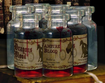 Witch's brew Potions bottle labels  DIGITAL DOWNLOAD