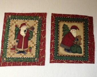 Debbie Mumm Fabric - Santa's - South Seas Imports - OOP