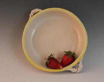 Brie Baker - yellow - baking dish