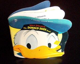 Vintage Children's Book - Walt Disney's Donald Duck Book - 1964