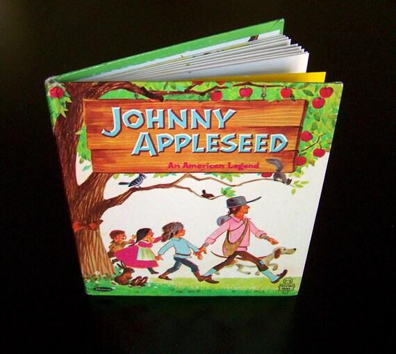 Vintage Children's Book by Elfreda - Johnny Appleseed An American Legend