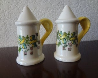 Vintage Metlox Happy Time Salt and Pepper Shakers