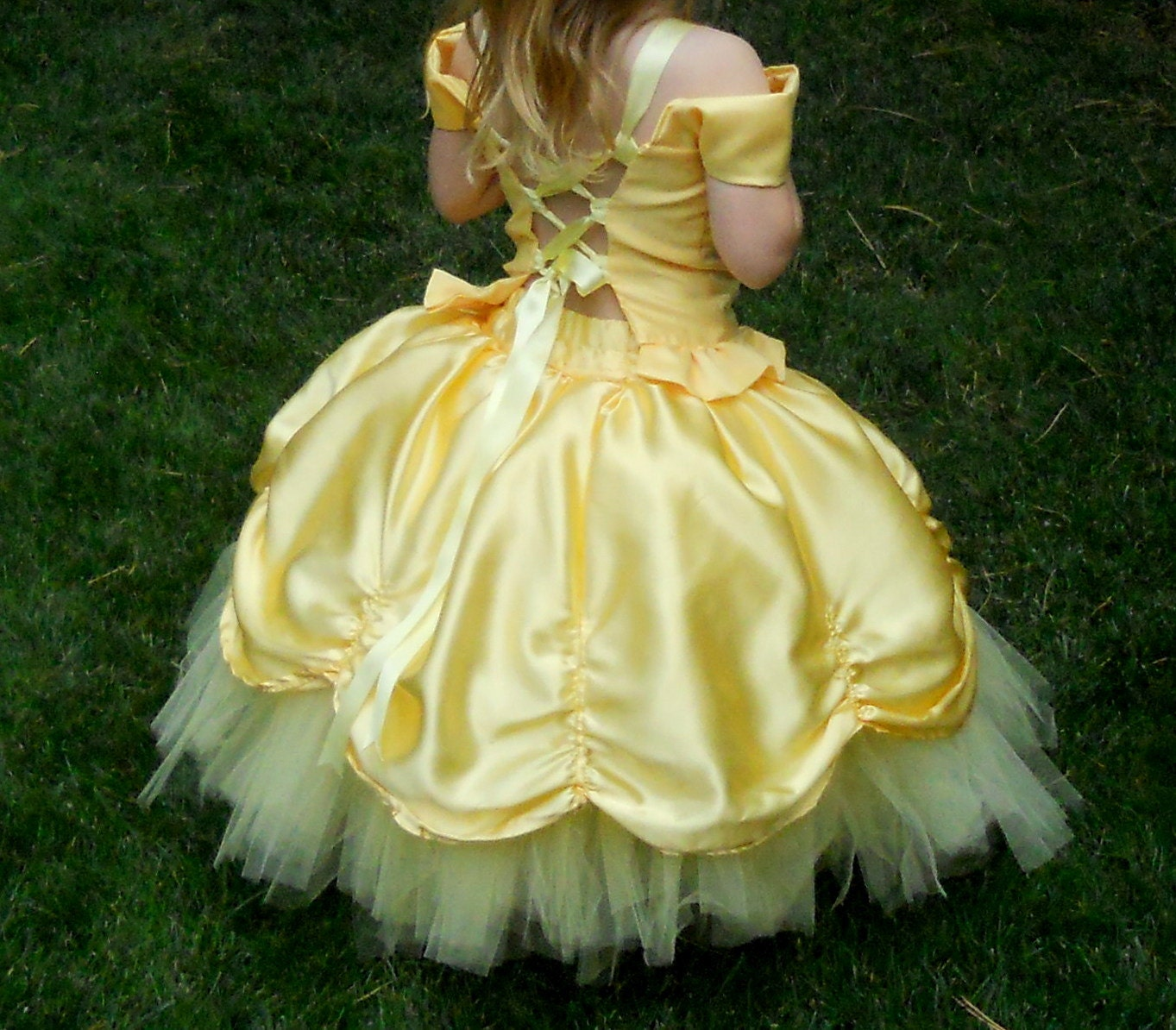Tutu Flower Girl Toddler Fancy Princess Dress 3T 4T 5T By DressNup