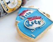 Beer Can Sugar Cookies 6 pack