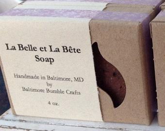 La Belle et La Bete Soap (Rose Blend) - HOLIDAY SALE PRICE