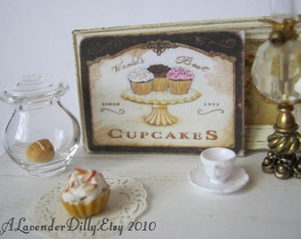 Greatest Cupcakes Sign for Dollhouse