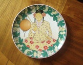"""Vintage - Villeroy & Boch - Heinrich Unicef """"Our Children""""  Collector Plate No 15 Malaysia"""