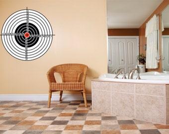 target decals etsy. Black Bedroom Furniture Sets. Home Design Ideas