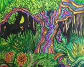 Trippy Tree (Print)